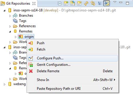Eclipse - Configure Git